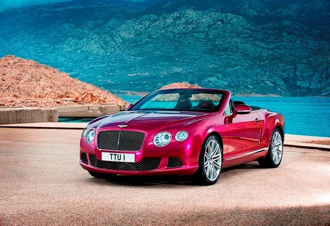 Bentley Continental GT Speed Convertible #1