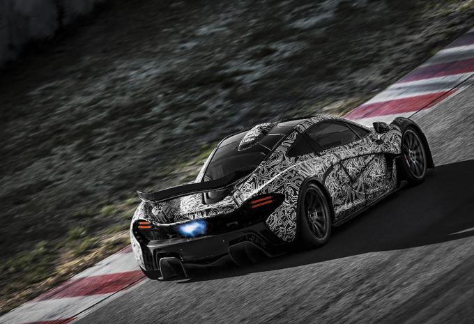 La McLaren P1 est hybride #1
