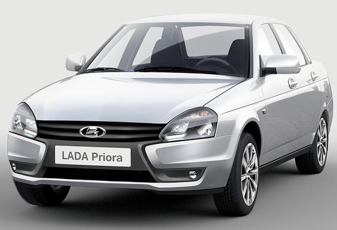 Facelift en automaat voor Lada Priora #1