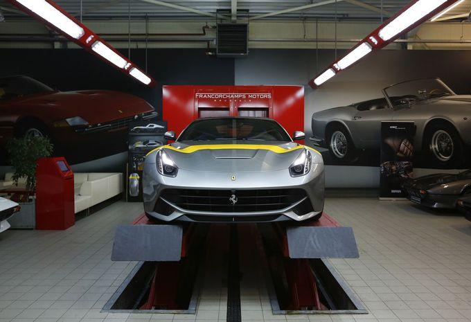 Salon van Brussel 2015: Ferrari F12 Tour de France 64 op Dream Cars #1