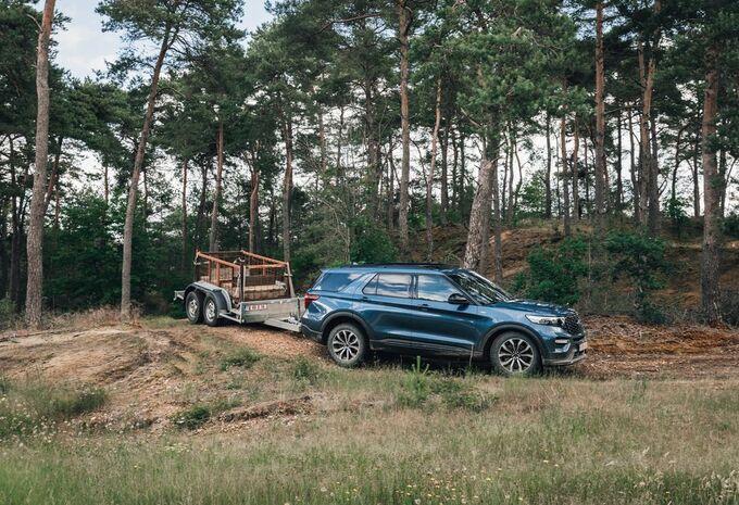 Ford Ranger en Explorer: Offroaden met 2,5 ton aan de haak #1