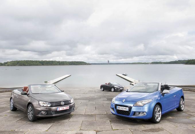 Volkswagen EOS, Peugeot 308 CC en Renault Mégane Coupé-Cabriolet : Sterren onder de zon #1