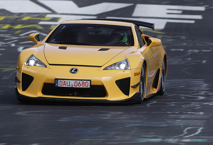 Lexus LFA Nürburgring Package #1