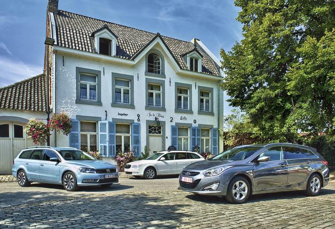 Hyundai i40 Wagon 1.7 CRDi, Skoda Superb Combi 1.6 TDI 105 & Volkswagen Passat 1.6 TDI 105 : Vooroordelen & vaste waarden #1