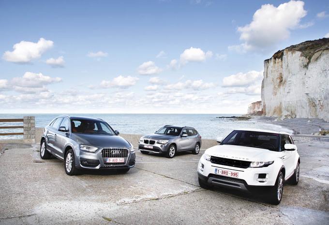 Audi Q3, BMW X1 & Range Rover Evoque : Downsizing #1