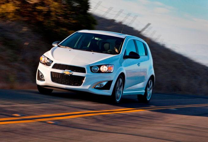 Chevrolet Sonic RS #1