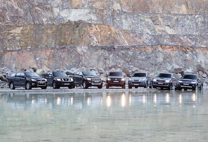 Ford Ranger 2.2 TDCi, Isuzu D-Max 2.5, Mitsubishi L200 DI-D HP, Nissan Navara V6 dCi, SsangYong Actyon Sports, Toyota Hilux 3.0 D-4D & Volkswagen Amarok 2.0 TDI 170 : Tout un marché sur 7 plateaux! #1
