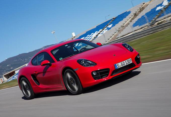 Porsche Cayman #1