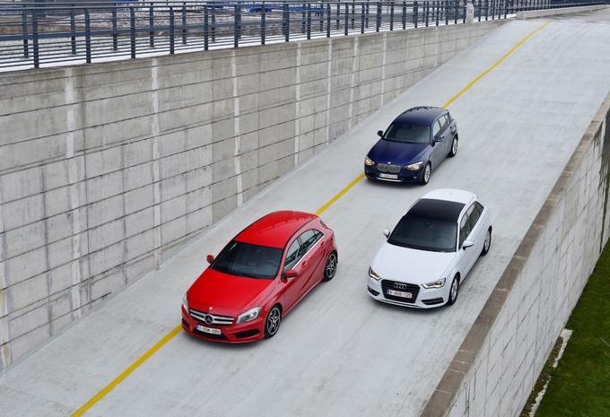Audi A3 Sportback 2.0 TDI, BMW 118d et Mercedes A 200 CDI : Duel en trio #1