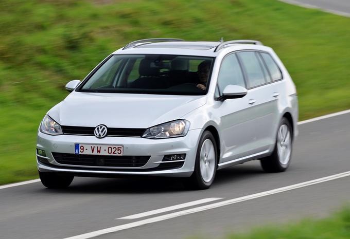 Test Volkswagen Golf Variant 1 6 Tdi 105 Autogids