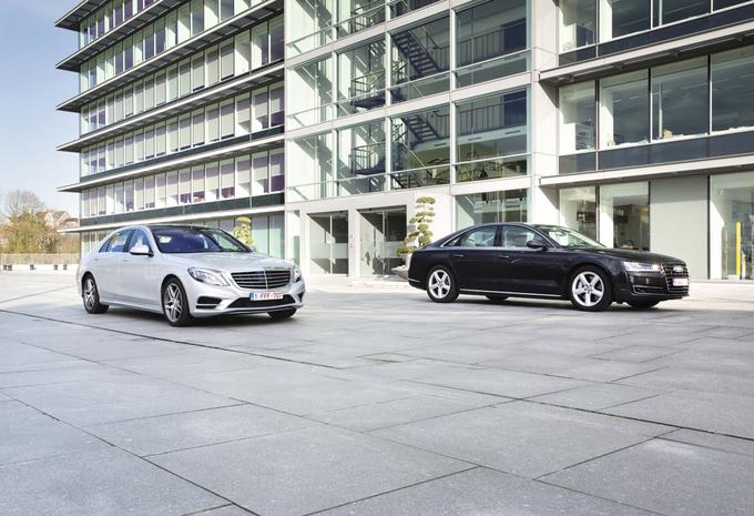 Audi A8 4.0 TFSI vs Mercedes S 500 : Actie en reactie #1