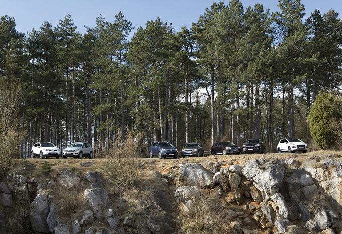 Hyundai ix35, Nissan Qashqai, Peugeot 3008, Skoda Yeti, SsangYong Korando, Suzuki SX-4 S-Cross et Volkswagen Tiguan : SUV qui peut! #1