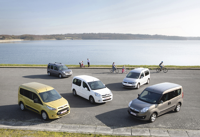 Test Citroën Berlingo 1 6 Hdi 90 Ford Transit Tourneo Connect 1 6 Tdci 95 Opel Combo 1 6 Cdti 90 Renault Kangoo 1 5 Dci 90 En Volkswagen Caddy 1 6 Tdi 1 Autogids
