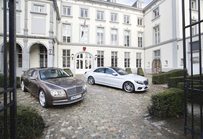 Bentley Flying Spur W12 vs Mercedes S 500 L : Charme britannique, luxe allemand  #1