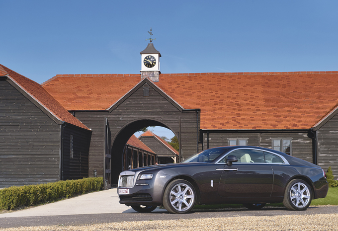 Rolls-Royce Wraith #1