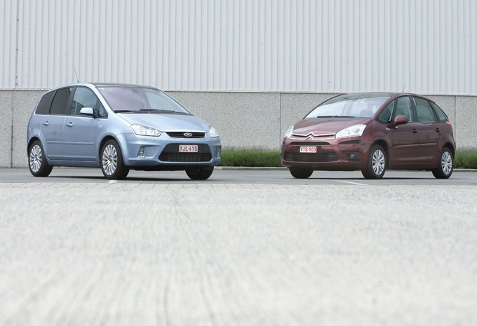 CITROËN C4 PICASSO 1.6 HDi • FORD C-MAX 1.8 TDCi : Voor (niet te) grote familie #1