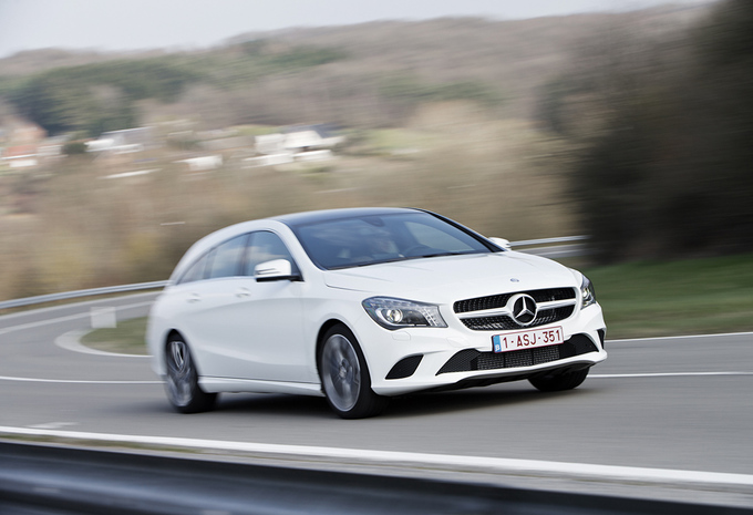 Mercedes CLA 200 CDI Shooting Brake #1