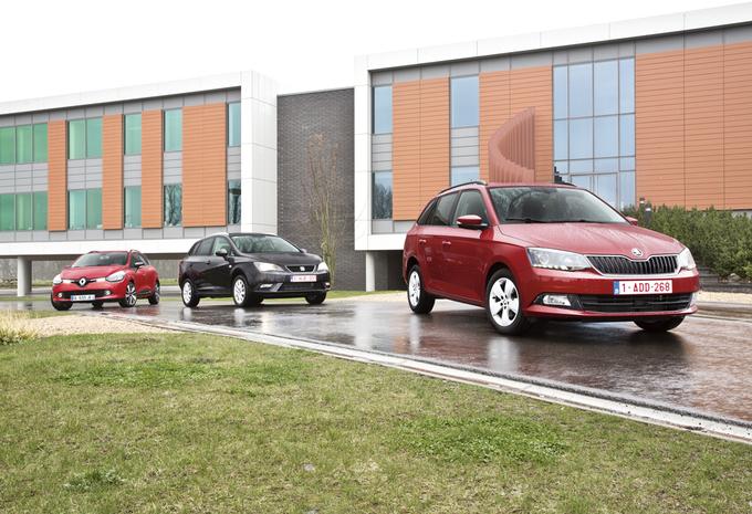 Renault Clio Grandtour 1.5 dCi, Seat Ibiza ST 1.6 TDI en Skoda Fabia Combi 1.4 TDI : Mooi vanbinnen én vanbuiten #1