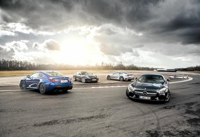 JAGUAR F-TYPE R // LEXUS RC-F // MERCEDES-AMG GT S // PORSCHE 911 TURBO S : Als de maskers vallen #1