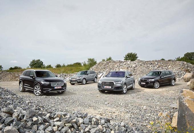 Audi Q7 en Volvo XC90 tegenover hun rivalen #1