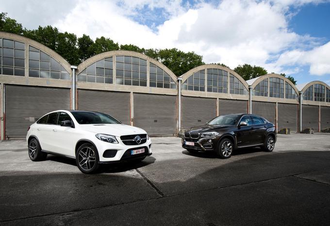 BMW X6 contre Mercedes GLE : les SUV mis à sac! #1