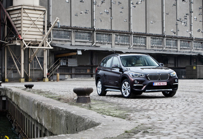 BMW X1 sDrive 18d : Tout à l'avant #1
