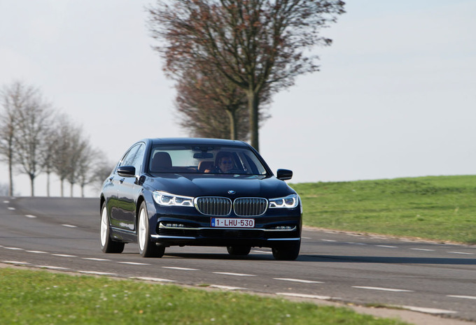 BMW 750i xDrive : Paradepaardje #1