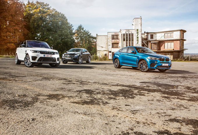 BMW X6 M // MERCEDES-AMG GLE 63 S COUPÉ // RANGE ROVER SPORT SVR : Bromberen #1