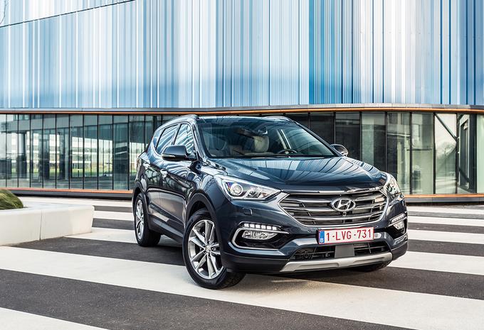 Hyundai Sante Fe 2.2 CRDi 4WD (2016) #1