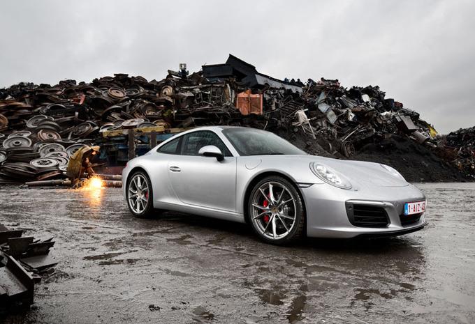 Porsche 911 Carrera S : Karakter gevrijwaard #1