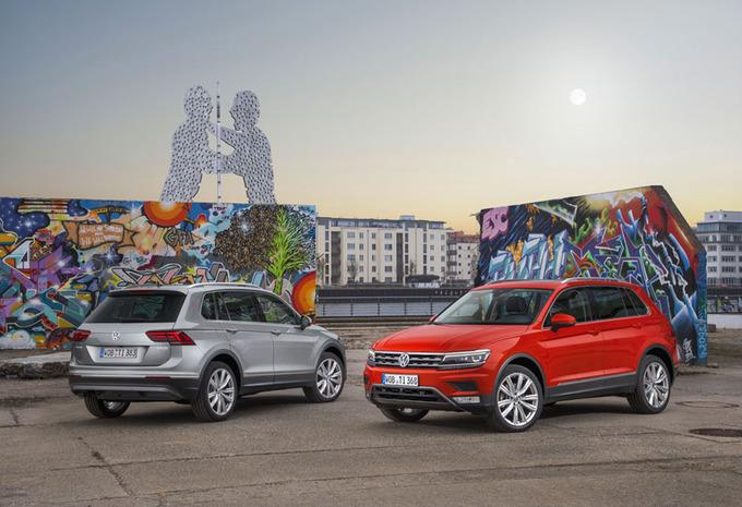 Volkswagen Tiguan : Differentiëring #1