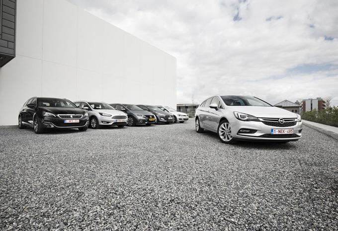 Opel Astra Sports Tourer tegen 5 breaks #1