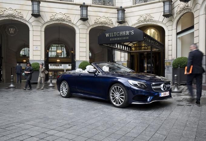 Mercedes S500 Cabriolet : Dakloze luxe voor vier #1