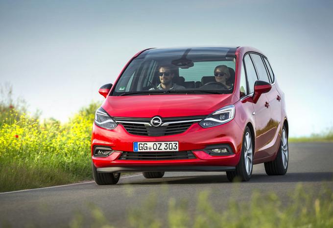Opel Zafira : Recht in de roos #1
