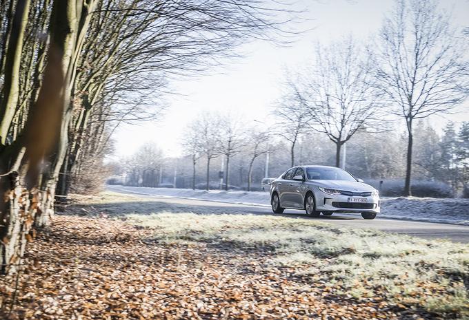 Kia Optima Plug-in Hybrid : surprenante #1