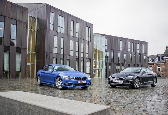 Audi A5 Sportback 2.0 TDI vs BMW 420d Gran Coupé : Verleidelijke  profielen #1