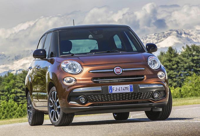 Fiat 500L : Opgefriste gezins-500 #1