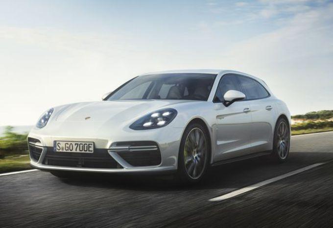 Porsche Panamera Sport Turismo Turbo S E-Hybrid #1