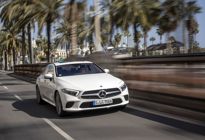 Mercedes-Benz CLS: Coole knaap #1