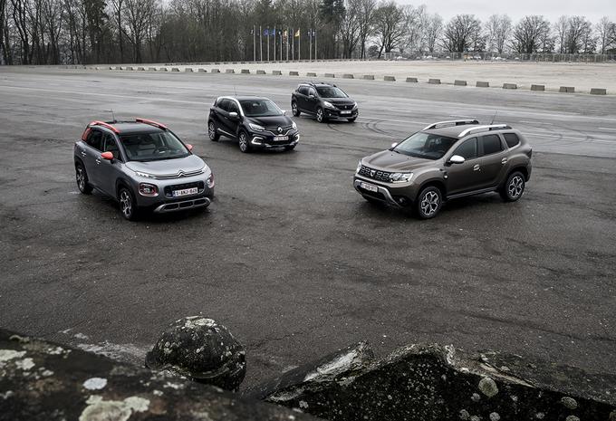 Dacia Duster tegen 3 rivalen #1