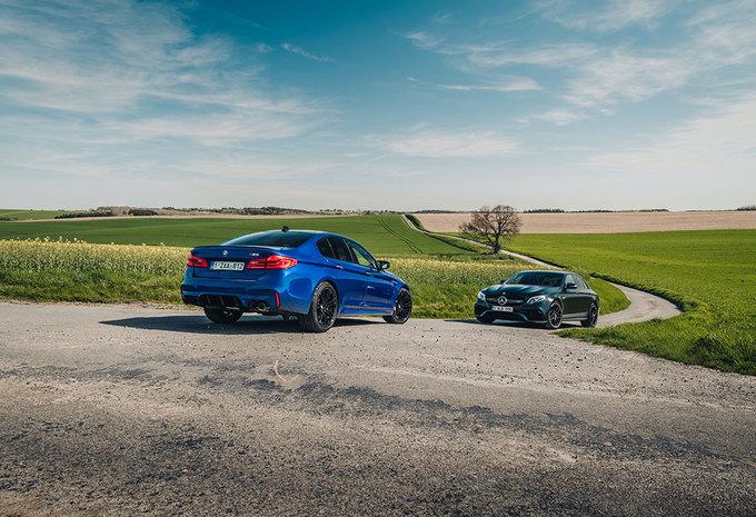 BMW M5 // MERCEDES-AMG E 63 S : Met mes en hamer #1