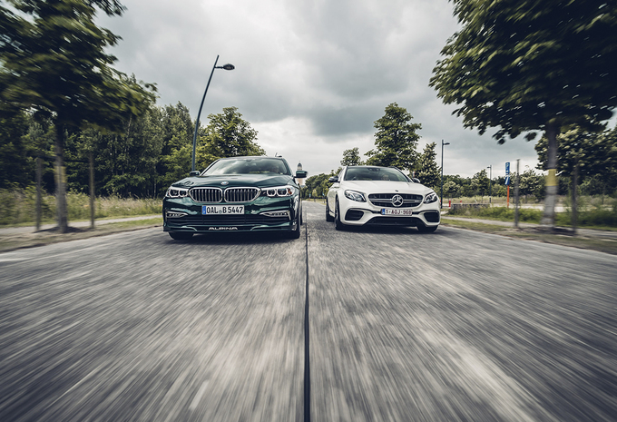 Alpina B5 Biturbo Touring vs Mercedes-AMG E 63 S Break #1