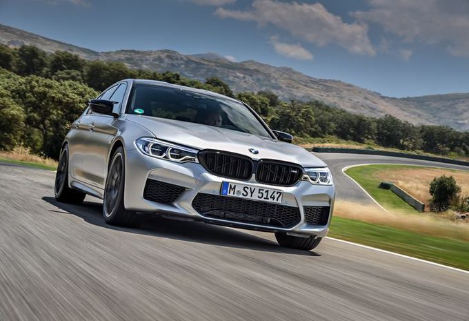 BMW M5 Competition: Katapult op wielen #1