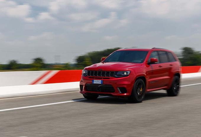 Jeep Grand Cherokee TrackHawk : Ils sont fous ces 'Ricains ! #1