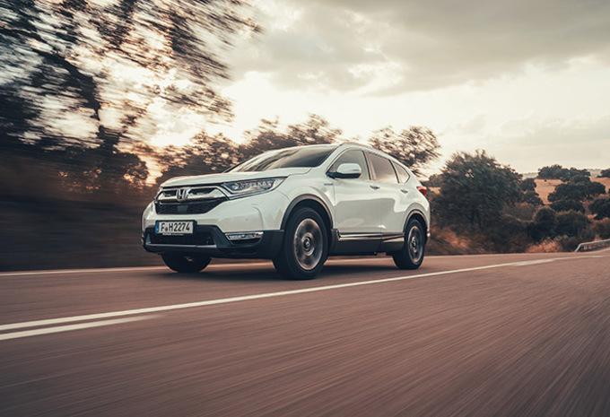 Honda CR-V Hybrid: Multimodaal #1