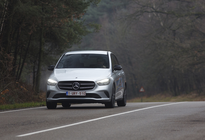 Mercedes B 200 d : Hightech monovolume #1