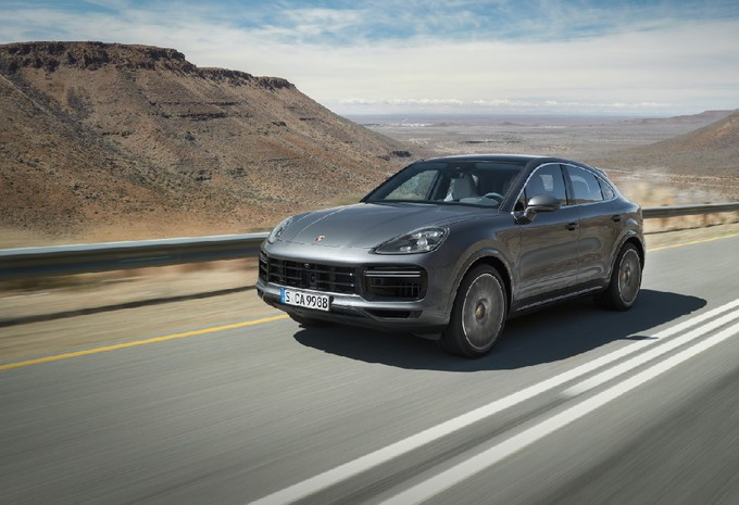 Porsche Cayenne Turbo Coupé (2019) #1
