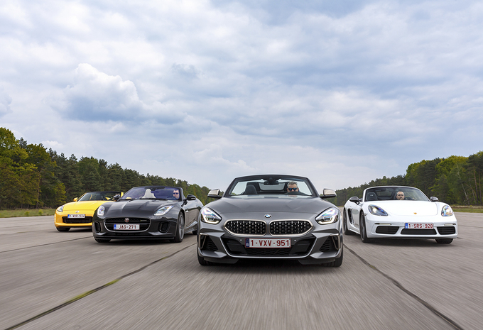 BMW Z4 tegen 3 rivalen #1