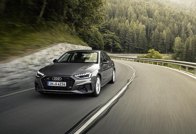 Audi A4: Competitief blijven   #1