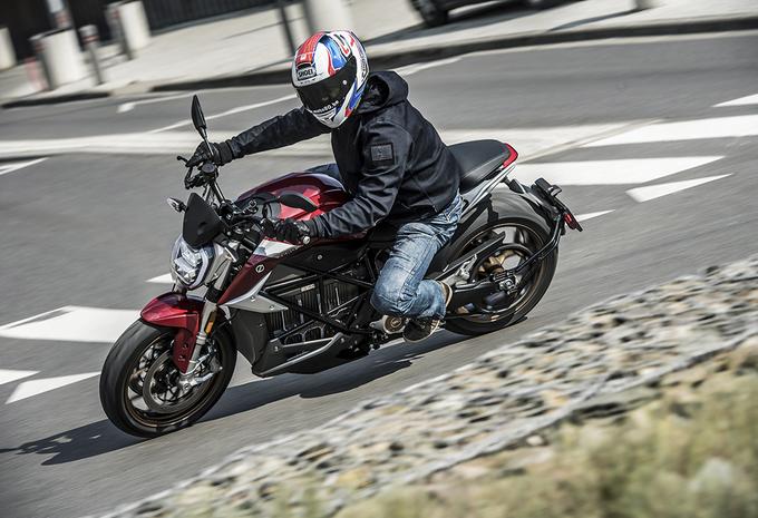 Zero Motorcycles SR/F : Stil en sensationeel #1